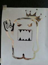 CHROME DOMO 2 pink 1 stink shocker king jdm euro dub decal sticker vinyl honda
