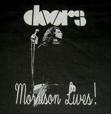 The Doors Jim Morrison Lives T-Shirt Sz L Single Stitch 70's Screen Stars 50/50