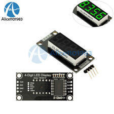 036 Tm1637 7 Segment 4 Bit Digital Tube Led Green Display Module For Arduino
