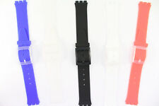 Eichmüller Uhrenarmband Ersatzband 16mm für Swatch Skin Uhren  5 Farben
