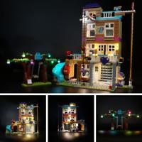 LED light kit for LEGO 41340 girl Friendship House lighting building LEGO 41340