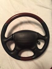 Incredible Subaru Legacy Outback Woodgrain Steering Wheel LL Bean Wood 99-04