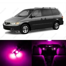 13 x Pink LED Lights Interior Package Kit for Honda Odyssey 1999 - 2004 + Tool