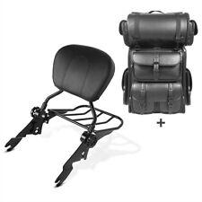 Sissybar sb1 + bolsa popa para LX Harley Electra Glide estándar 09-10 negro