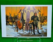 Signed A KNIGHT Of The SEVEN KINGDOMS George R R Martin ART PRINT by Gary Gianni