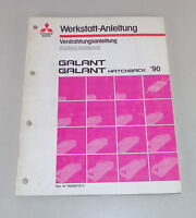 Workshop Manual Mitsubishi Galant E 30 Supplement Electric Schematics Since 1990