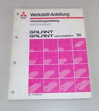 Werkstatthandbuch Mitsubishi Galant E 30 Nachtrag Elektrik Schaltpläne ab 1990