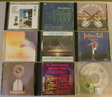 Lot of 9 Assorted Cds Blues Guitar Rock-N-Roll Country Jass Music Lyrics Vintage