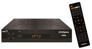 Satreceiver HD75-X322 plus Openbox, BEST IPTV, USB, SAT TV,  Russische Sender