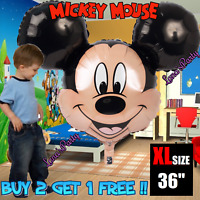 XL 36'' Mickey Mouse Birthday Party Balloon baby Shower balloons decorations bag