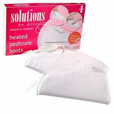 Electric Heated Warm Pedicure Boots Paraffin Other Treatment PAIR Hive Solutions