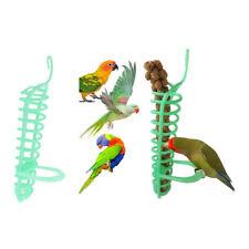 New listing 2pcs Bird Parrot Feeder - Budgie, Parakeet Cage Vegetable Rice Spike Holder