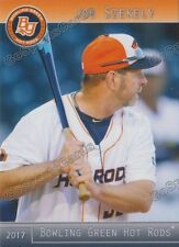 2017 Bowling Green Hot Rods Joe Szekely Tampa Bay Rays HC