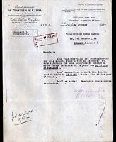 """PARIS (XIV°) Cafés / TORREFACTION """"AU PLANTEUR DE CAIFFA"""" en 1937"""