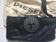 Pochette Cuir Noir Diesel Neuve