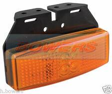 LED Autolamps 1491am 12V / 24V ambra lato indicatore Posizione Lampada / Luce Camion Rimorchio