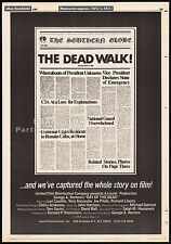 "DAY OF THE DEAD__THE DEAD WALK!__""Original"" 1985 Trade AD / poster__movie promo"