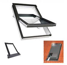 Dachfenster 114x118 PTP-V U5 Kunstoff Fakro mit Außenrollladen ARZ solar+EZV+MXT