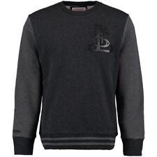St. Louis Cardinals Mitchell & Ness Men's Leather Trim Crew Sweatshirt - SMALL
