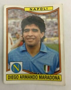 Figurina 241 MARADONA Album CALCIATORI PANINI 1990 91 1991 stickers NUOVA NEW