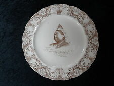 Commemorative China Plate - Queen Victoria 1897 Jubilee (26.5cm)