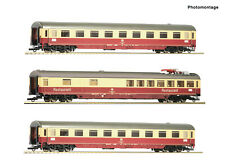 Roco 74122 Tee Erasmus Train Set Db Ep IV New Optional Wheelsets Märklin Free