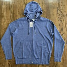 Peter Millar Crown Comfort Cashmere Blend Hoodie, Size Large NWT $395
