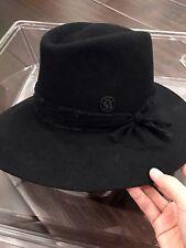 Maison Michel hat black lace Size S