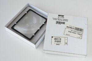 """Sinar 4x5"""" Fresnel Screen & Frame, Mounted Fresnel Lens"""