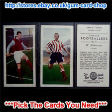 CHIX FAMOUS FOOTBALLERS 2ND SERIES 1956 (G/F) *PICK THE CARDS YOU NEED*