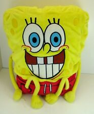 "Nickelodeon Sponge Bob Squarepants Plush Cuddle Pillow 16"" Fun toy Viacom 2014"