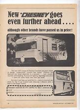 Chesney Caravan Original Advertisement