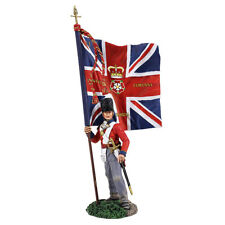 W. Britain Napoleonic 36142, British 1st Foot Guard, Ensign W/ Regimental Colour