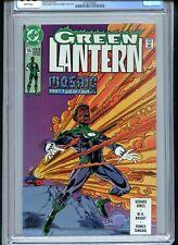 Green Lantern #15 CGC 9.8 White John Stewart Only Graded Copy