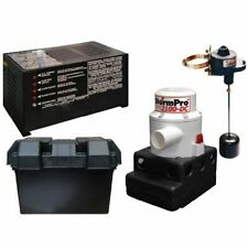 Ion Battery Backup Sump Pump System 2100 Gph 10 Mi20106