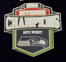 2013 NFC West Division Champions lapel pin Seattle Seahawks NFL