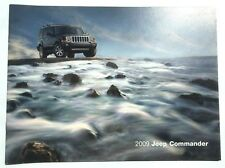 2009 JEEP COMMANDER 28 PAGE LITERATURE BROCHURE! FULL LINEUP GREAT CONDITION!
