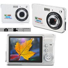 18 Mega Pixel HD FOTOCAMERA DIGITALE DIGITAL VIDEO CAMCORDER PORTATILE dimensionati ARGENTO