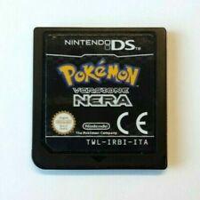 Pokemon Versione Nera x Nintendo DS Italiano 2DS XL NDS Funzionante ITA Nero