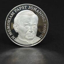 Muerte del papa juan pablo ii. - plata-medalla, alemania, 142974