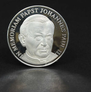 Tod von Papst Johannes Paul II. - Silber-Medaille, Deutschland, 142974