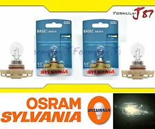 Sylvania Basic PS24W 5202 H16 9009 Two Bulbs Fog Light Replacement Plug Play OE