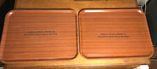 Pair Of HAROLD WOOD HOSPITAL PATIENTS TRAY MEAL SERVICE