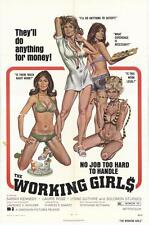 THE WORKING GIRLS Movie POSTER 27x40 Sarah Kennedy Laurie Rose Mark Thomas