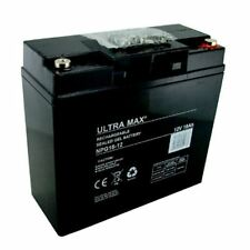 Ultramax 12v 18ah Gel (COMO 20ah, 22ah) Coche Juguete Batería FEBER PEG PEREGO