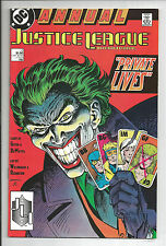 Justice League International Annual #2 - Joker cover, Blue Beetle Booster Gold