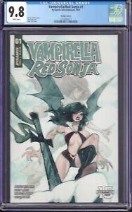 Vampirella/Red Sonja  #1 (Dynamite Entertainment, 2019) CGC 9.8 Variant Cover C