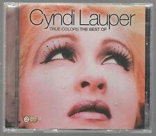 CYNDI LAUPER TRUE COLORS THE BEST OF - 2  CD