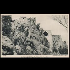 CYPRUS ST HILARION CASTLE THE MIDDLE WARD FROM BELOW MUSEUM'S MINT POSTCARD