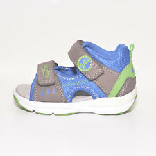 Superfit Garçons 40012005 Gris & Bleu Cuir & Textile Sandales UK 4 EU 20 US 4.5